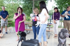 "August 25, 2019: Senators Katie Muth and Andy Dinniman joined animal advocates in Upper Merion yesterday for a rally to promote passage of ""Victoria's Law"" that would prohibit the sale of dogs or cats in pet shops in an attempt to close puppy mills in Pennsylvania."