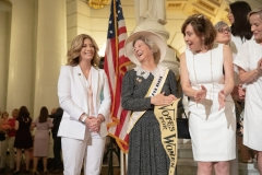 June 24, 2019: Senator Katie Muth joins colleagues in marking the 100th Anniversary of Women's Suffrage.