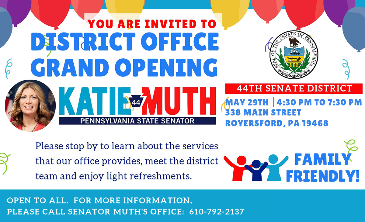 District Office Grand Opening - May 29, 2019