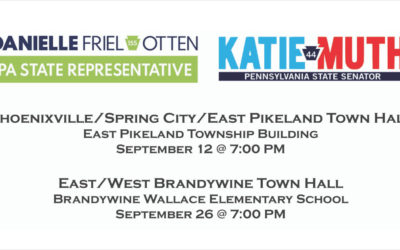 Otten and Muth to Hold Series of Town Halls this Month